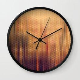 Tangerine Wall Clock