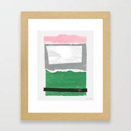 Avalon I Framed Art Print
