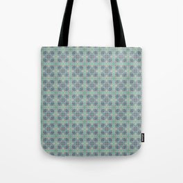 Butterfly Semi-Plaid Tote Bag