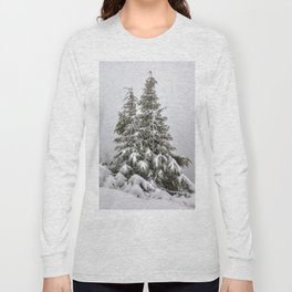 Snow Covered Trees Long Sleeve T-shirt
