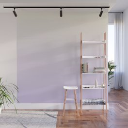 VIOLET FUMES - Minimal Plain Soft Mood Color Blend Prints Wall Mural