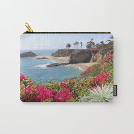 Tropical Beach Carry-All Pouch