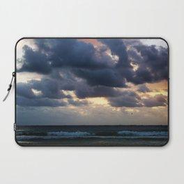 Dramatic Beach Sunset Laptop Sleeve