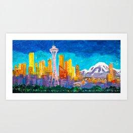 """Expression Seattle"" Art Print"