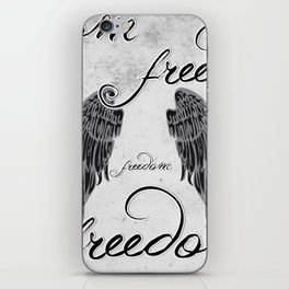 WINGS OF FREEDOM iPhone Skin