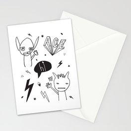 Hi! Yo! Ace! Stationery Cards