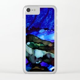 Starry  Starry Skies Clear iPhone Case