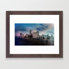 The CLE. Framed Art Print