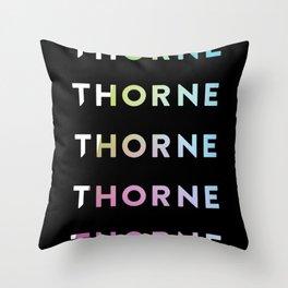 Logo Gradient Throw Pillow