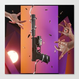 TRIGGER FINGERS Canvas Print