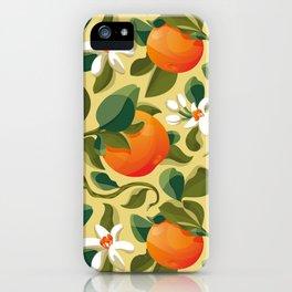 Summer Orange iPhone Case