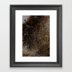Making a splash Framed Art Print