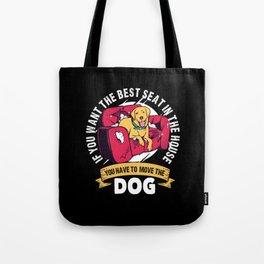 Funny Dog Shirt Gift Walkie Tote Bag