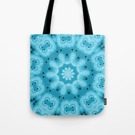 The Blue Swirl  Tote Bag