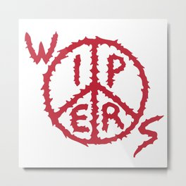 Wipers Punk Band Metal Print