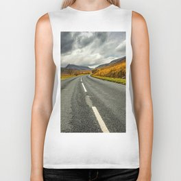 Winding Welsh Road Biker Tank