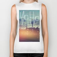pirate ship Biker Tanks featuring I was born on a pirate ship. by CaptClare