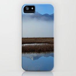 Autumn Mist Reflection iPhone Case