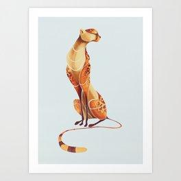 Cheetah 1 Art Print