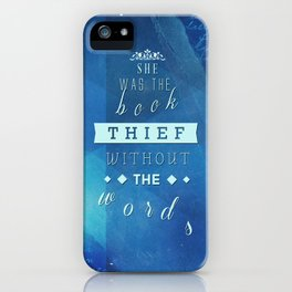 The Book Thief iPhone Case