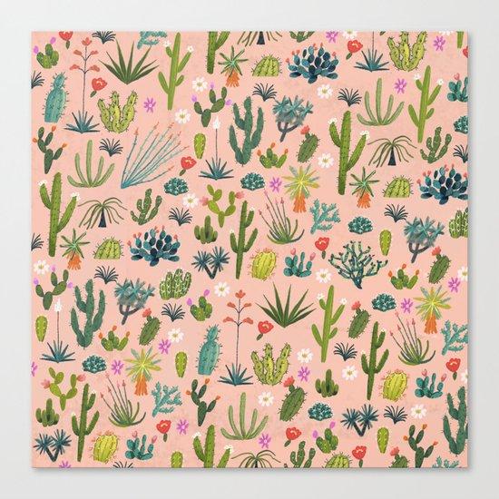 Arizona Cacti Canvas Print