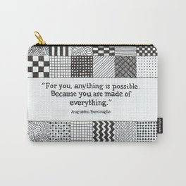 Made of Everything Carry-All Pouch