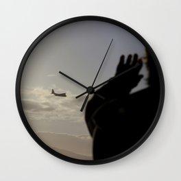 the plane Wall Clock