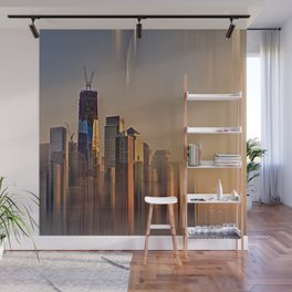 Freedom Tower Fantasy Wall Mural