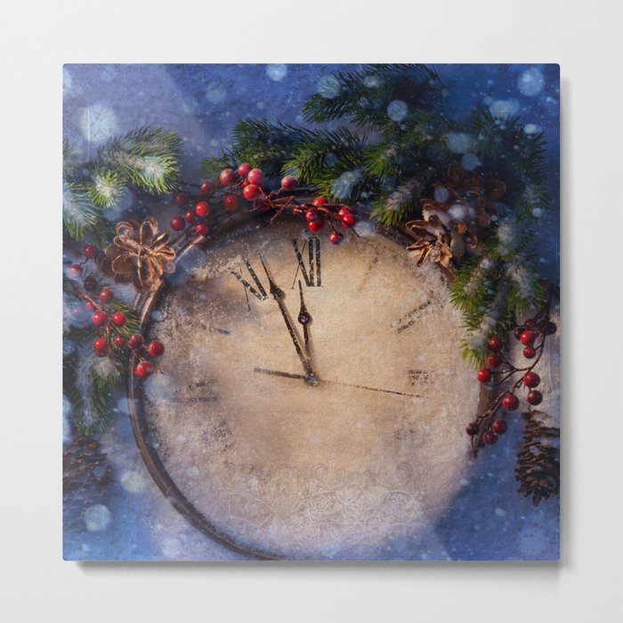 Frozen time winter wonderland Metal Print