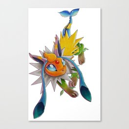Chymereon— Eeveelutions Mashup Canvas Print