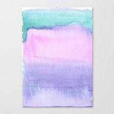 Watercolour Pastel Canvas Print