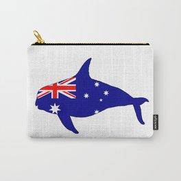 Australian Flag - Killer Whale / Grampus / Orca Carry-All Pouch