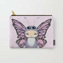 A Boy - Butterfly Carry-All Pouch