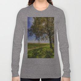 The Daffodil Summer Farm Art Long Sleeve T-shirt