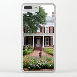 Kenan House Side View Clear iPhone Case