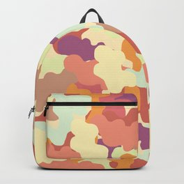 Camo in Rust, Fall Colors. Backpack