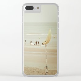 Banana people Clear iPhone Case