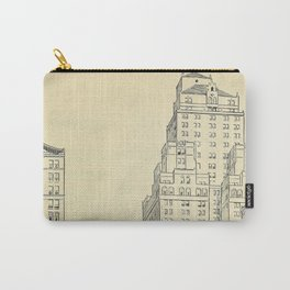 Vintage Skycrapers Carry-All Pouch