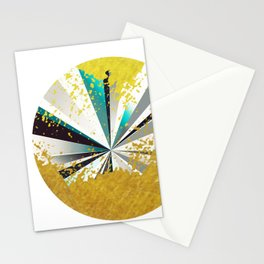 golden circle Stationery Cards