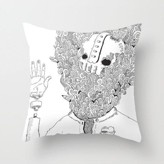 Self Throw Pillow