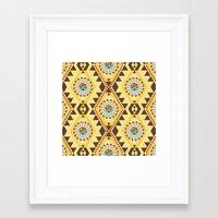 southwest Framed Art Prints featuring Southwest  by Mia Valdez