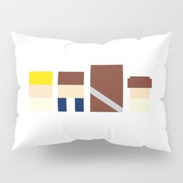 REBEL SQUARES Pillow Sham