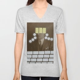 Another Brick In The Wall Unisex V-Neck