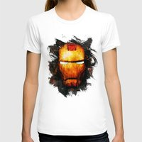iron man T-shirts featuring Iron Man by Sirenphotos