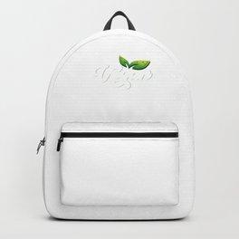 Healthy Living Vegan Lifestyle Veganism Animal Rights Activist Plant Based Backpack