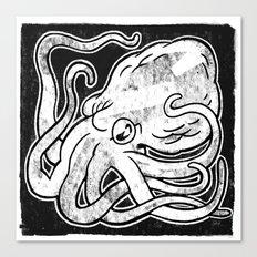 Octopus Print Canvas Print