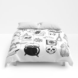 halloween flash Comforters