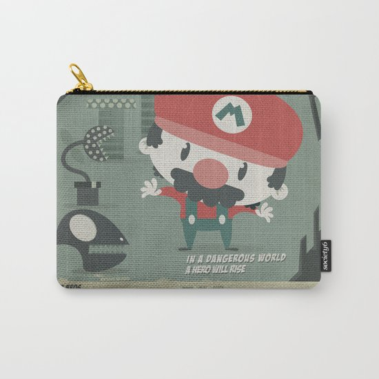 mario bros 4 fan art Carry-All Pouch