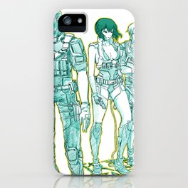 Ghost in the Shell 04 iPhone Case