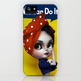 We Can Do It! iPhone Case